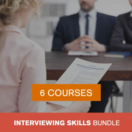 Online Interviewing Skills Training Bundle