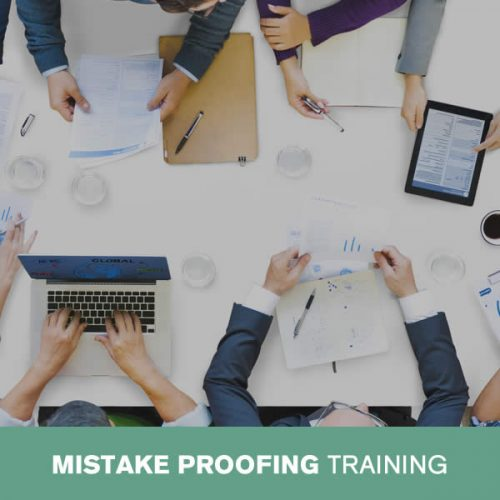 Online Mistake Proofing Training